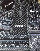 ROTARY PRINTED AJRAK DESIGNS PAKISTANI CULTURAL LADIES SHALWAR QAMEEZ FABRIC FOR 3 PIECE SUITS