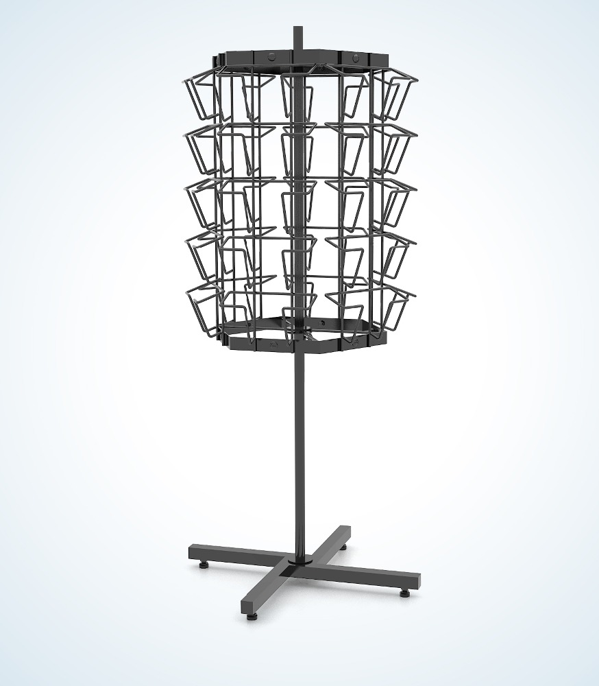 5-Tier Pro-CD / Poster Stand (type III)