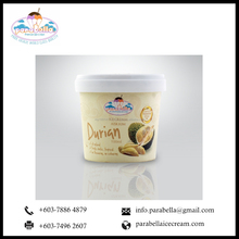 Durian D24 Fruit Premium Ice Cream 100ml - Made with Fresh Durian Fruit, No artificial Flavouring and Colouring
