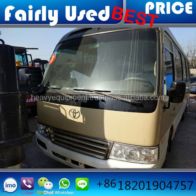 Used Japan medium-sized bus 4x2, used toyota coaster buses