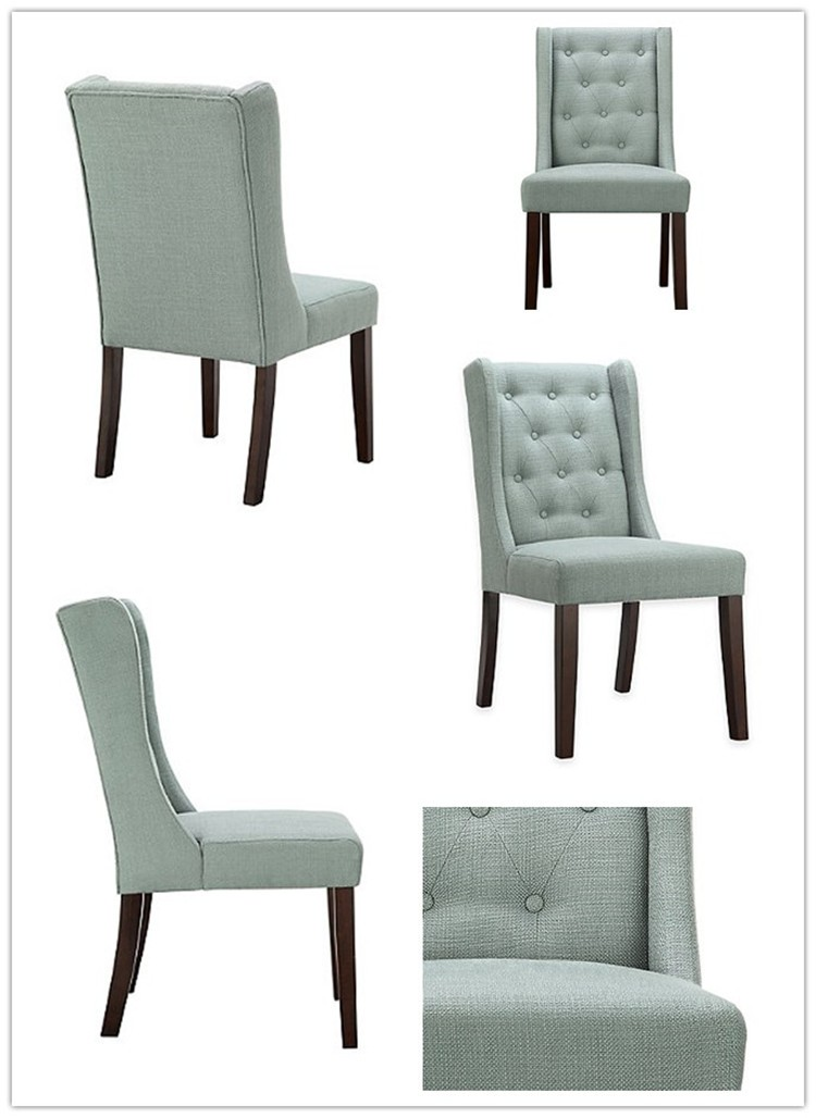 711 Traditionally Decor Style Stunning Button Tufted Chair Dining Set Home Furniture