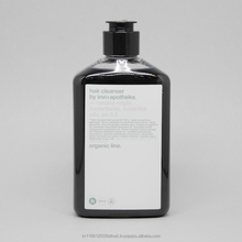 Organic natural moisturising charcoal shampoo with essential oils
