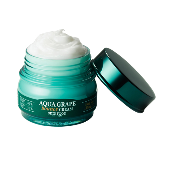 SKINFOOD Aqua Grape Bounce Cream / Korea Cosmetics