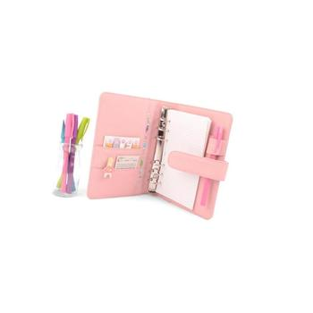 Leather Travelers Planner For Girls