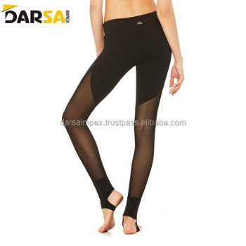 sublimation polyester spandex camo womens leggings