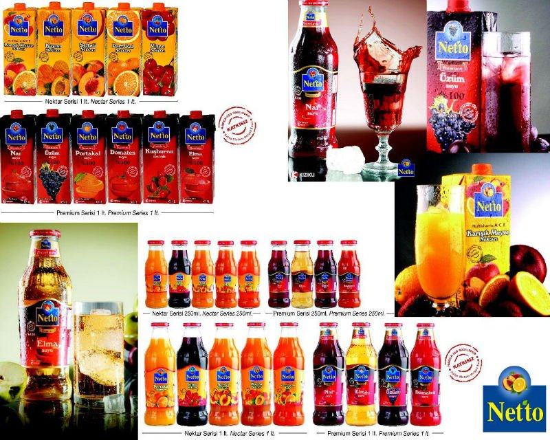 Netto Nectar Juice Beverages