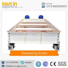 High Capacity Wet Sand Dewatering Screening Machinery