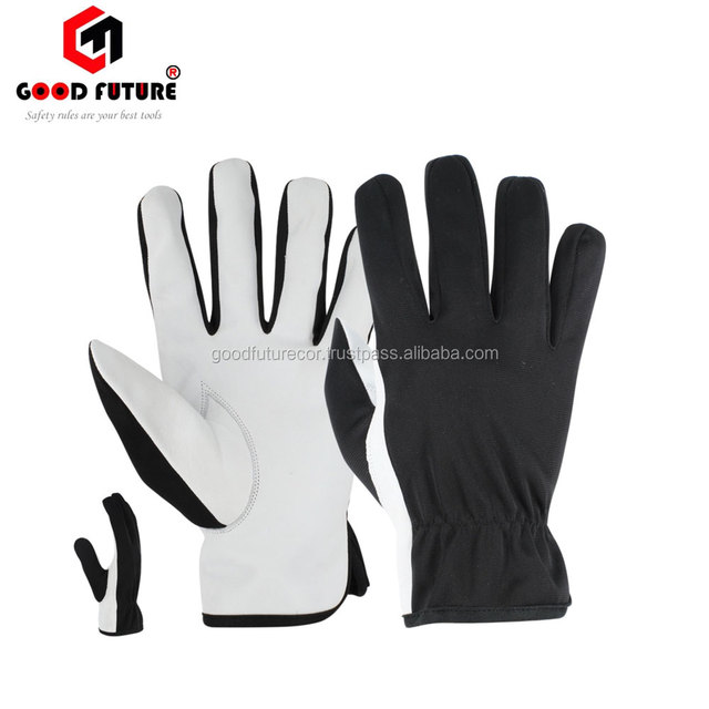 Protective Hand Safety leather working gloves