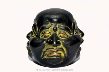 Four Face Laughing Buddha Head statue/Buddha head statue