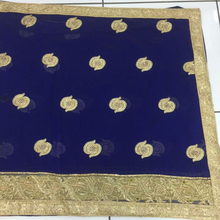 Bridal hand work saree