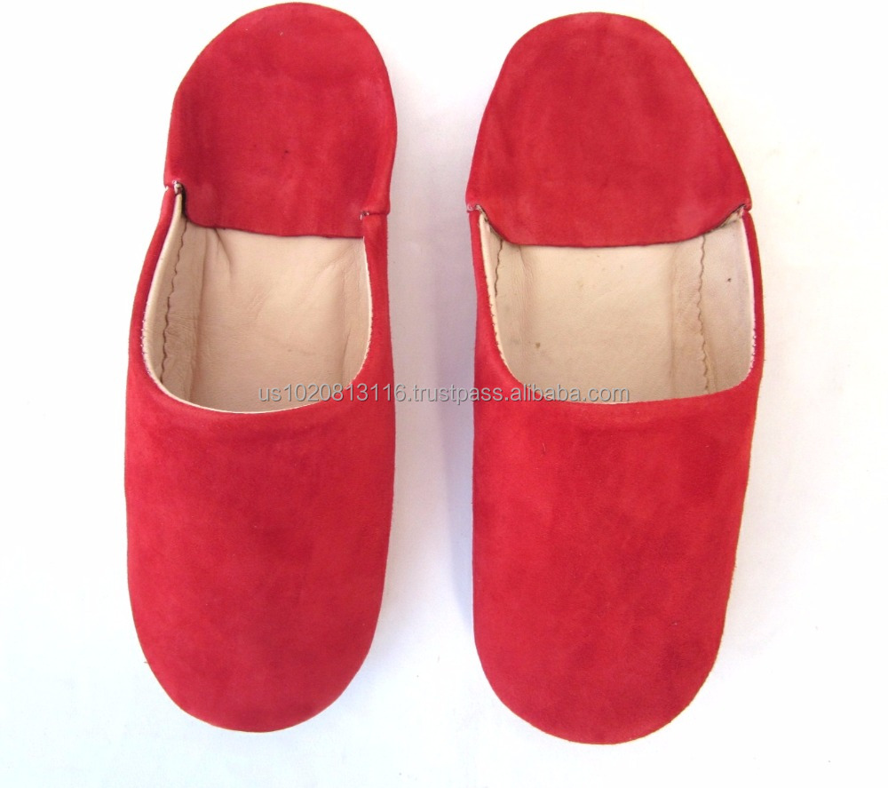 Authentic Leather Slipper Babouche For Women