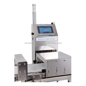 [NSAMD-W480] Korea High Quality Food Processing Aluminum Packaging Industrial Metal Detector