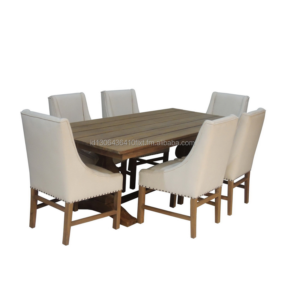 Wholesale Dining Set Table & Up Chair Dinner Furniture Restoration