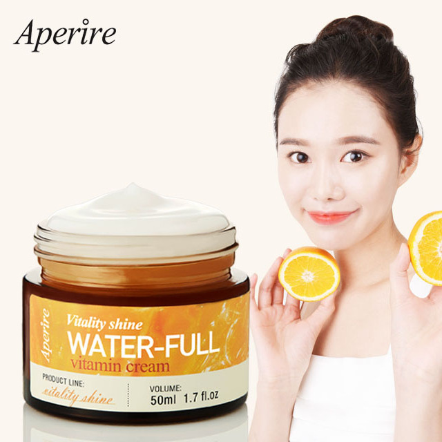 Aperire Water Full Vitamin Whitening Moisturizing Cream Korean Cosmetics Brands Best Brightening Skin Beauty Care