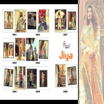 Shree Fab Jiya Cotton Collection Glace Cotton With Printed Unstitched Salwar kameez, Suit For Indian Pakistani Women.
