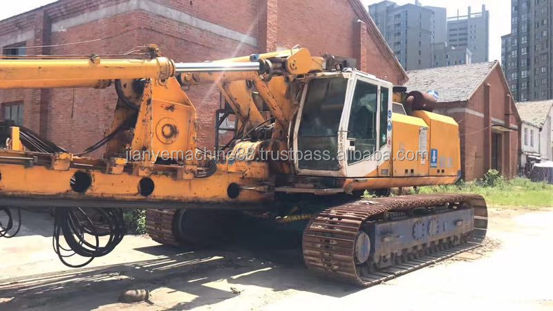 New arrival Foton Rotary Drilling machinery FR662C TR180D Bauer BS80 BG22 BG25 Model Hydraulic Rotary Drill Rig