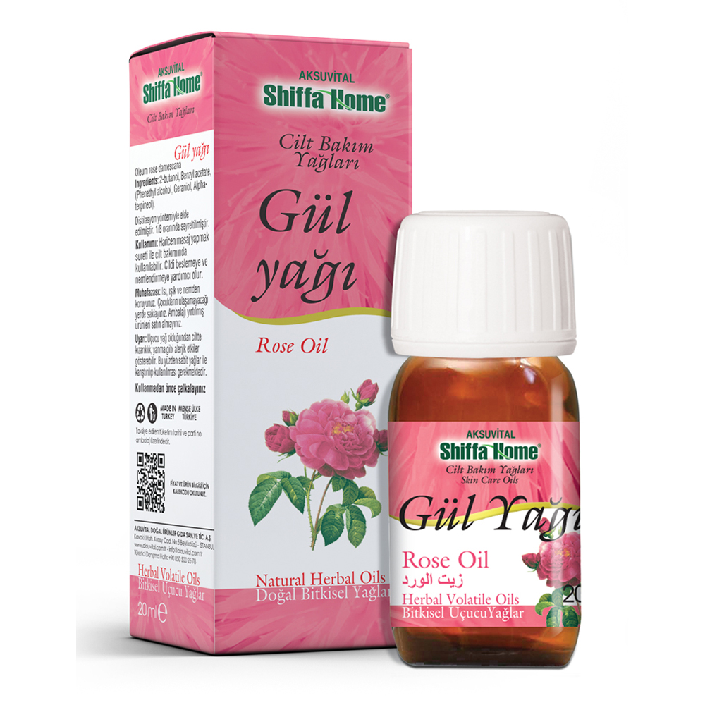 Rose Essential Oil 20 ml Rosa Damask aroma source essential oils