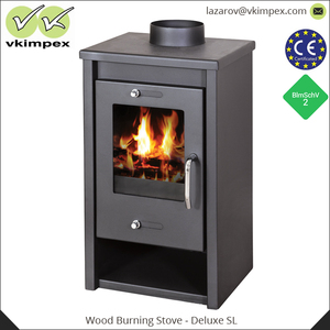 Modern Steel Plate Door Stove Wood Burning Stove