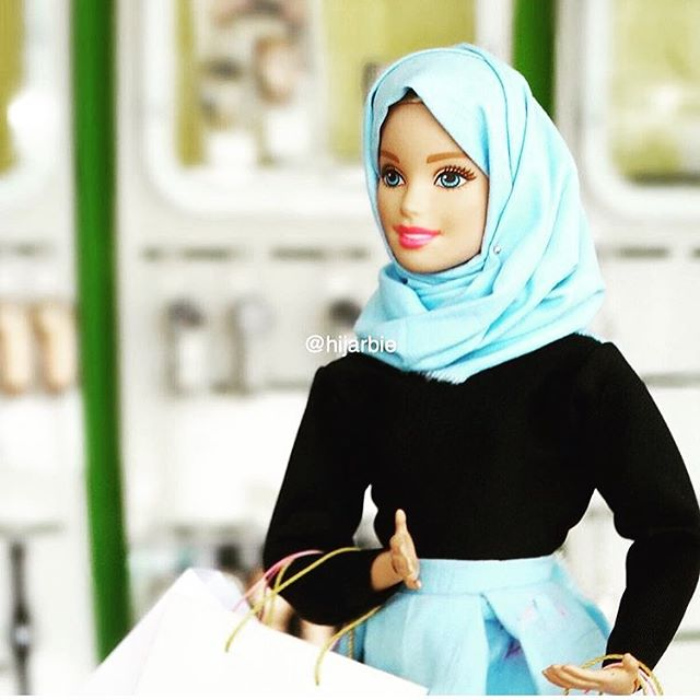 2018 Trendy Muslimah customized doll