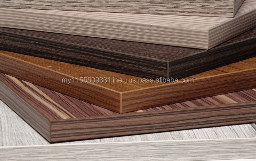 Melamine Laminated MDF Board, Various Color Surface Melamine Faced Fibreboard