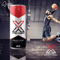 X SPORT carbonated Energy drink