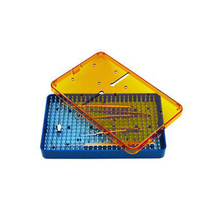 CE Certified Autoclavable Micro Surgical Instruments Plastic Sterilization Trays
