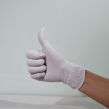Medical grade AQL 1.5 disposable powder free nitrile gloves malaysia