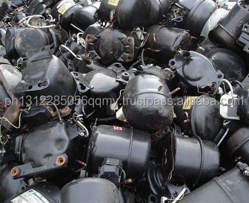 Cheap and Good quality Fridge and AC Compressor scrap for sale!! From good brands