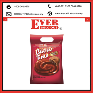 Malaysia Custom 320g Fortune Chocotime Chocolate Cookies Chip in bulk