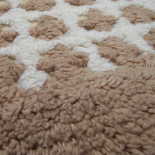 Cotton Bath Mat Ribbed Flock Microfiber Chenille Bath Math