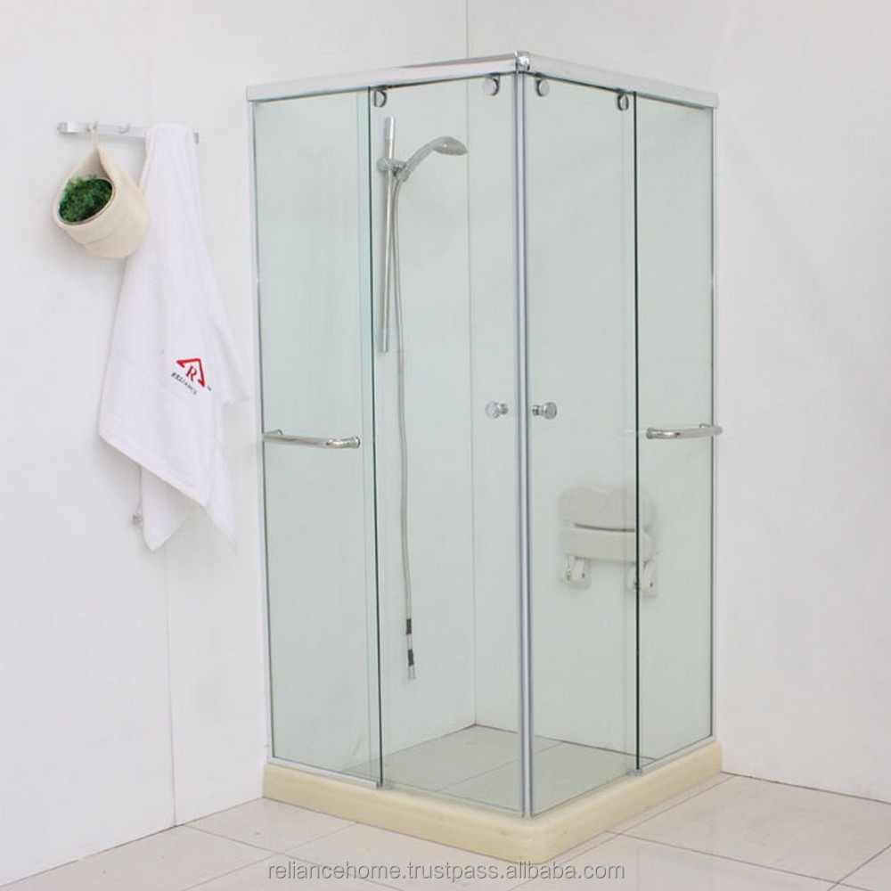 Reliance Home Malaysia RS5018PL wall to wall shower screen door