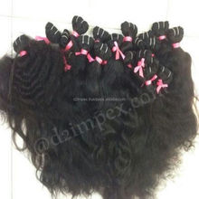 Huge stock raw curl human hair brandy hair weave