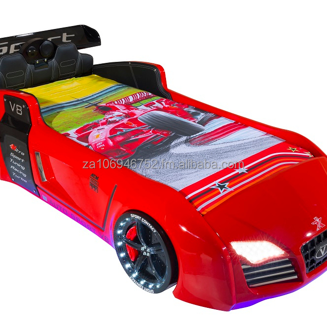 Kids Racer Car Beds in V8 Car Bed