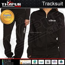 TRACKSUIT Sporty Casual Zip Hoodie Jacket and Sweat Pant Set
