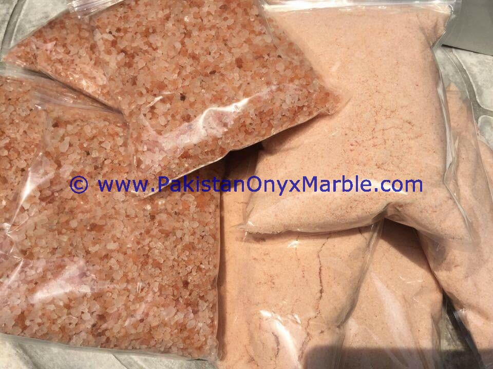 HIGH QUALITY HIMALAYAN EDIBLE FINE GRANULATED PINK NATURAL CRYSTAL ROCK SALT