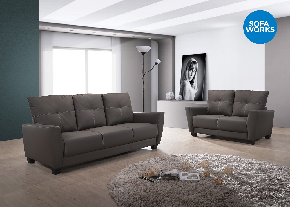 Modern Design Sofa, PU Leather Sofa Set, Comfortable Latest Design Sofa