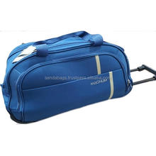 Waterproof Travel troley sport bag made from Canvans by Vietnamese factory with international certificate SGS, SEDEX, BSCI