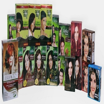 herbal wary hair dye