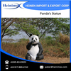 Fiber Glass Made Jumbo Size Panda's Statue