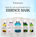 KOREA Varpsys Face Mask Skin Care Essence Mask AQUA MOISTURE REARL BRIGHTENING SNAIL HYDRATING COLLAGEN ELASTICITY