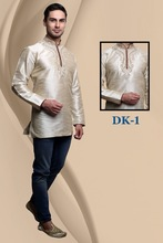 SHORT DESIGNER KURTA FOR MEN