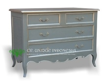 CHEST OF DRAWERS - FRENCH COMMODE CHEST - DRESSER - HOME FURNITURE