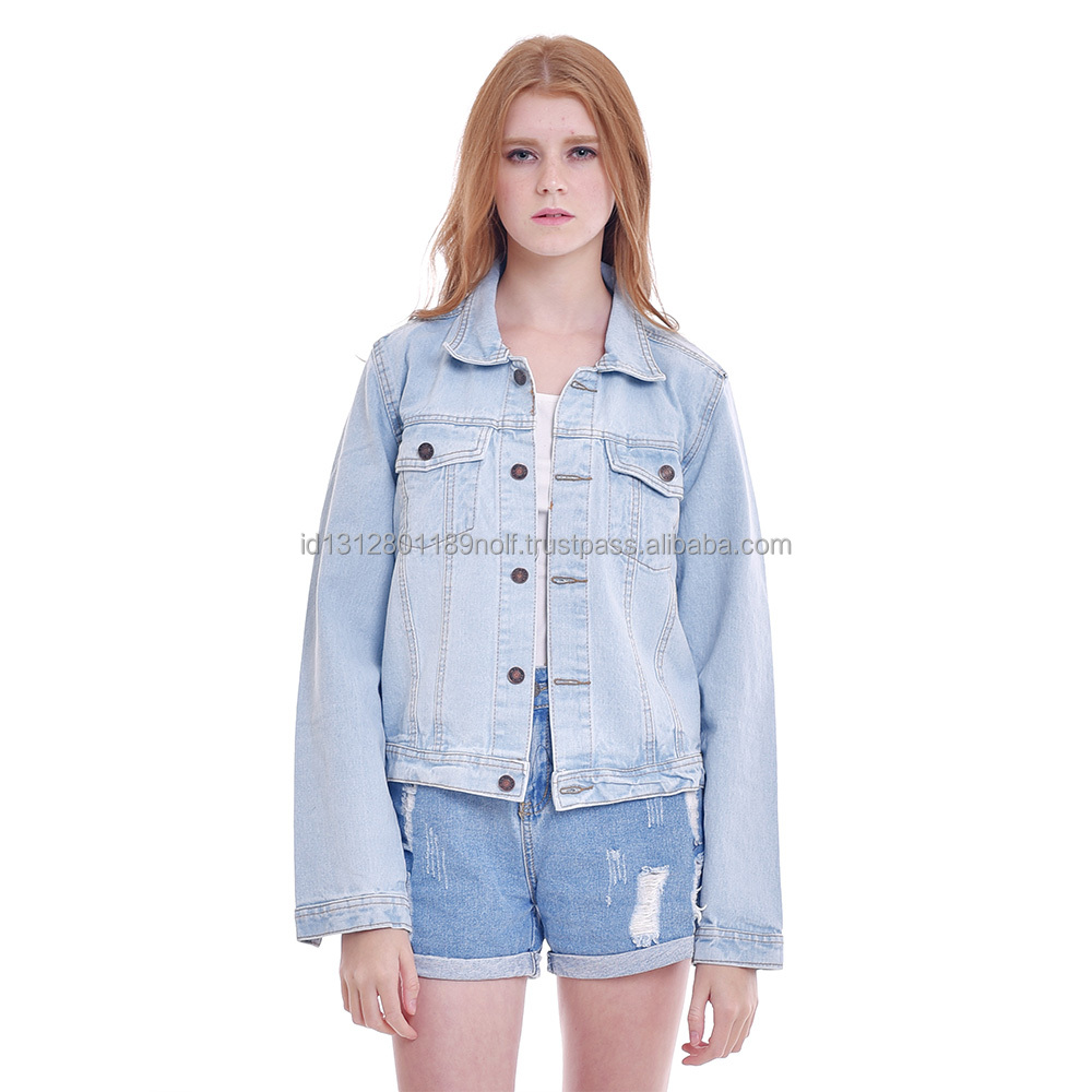 CARTEXBLANCHE - Premium Denim Jacket - Woman Apparel - Jeans - made to order