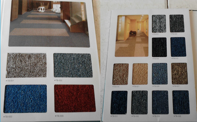 carpet tile( free installation)