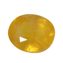 Yellow Sapphire Pukhraj Natural Certified Loose Gemstone