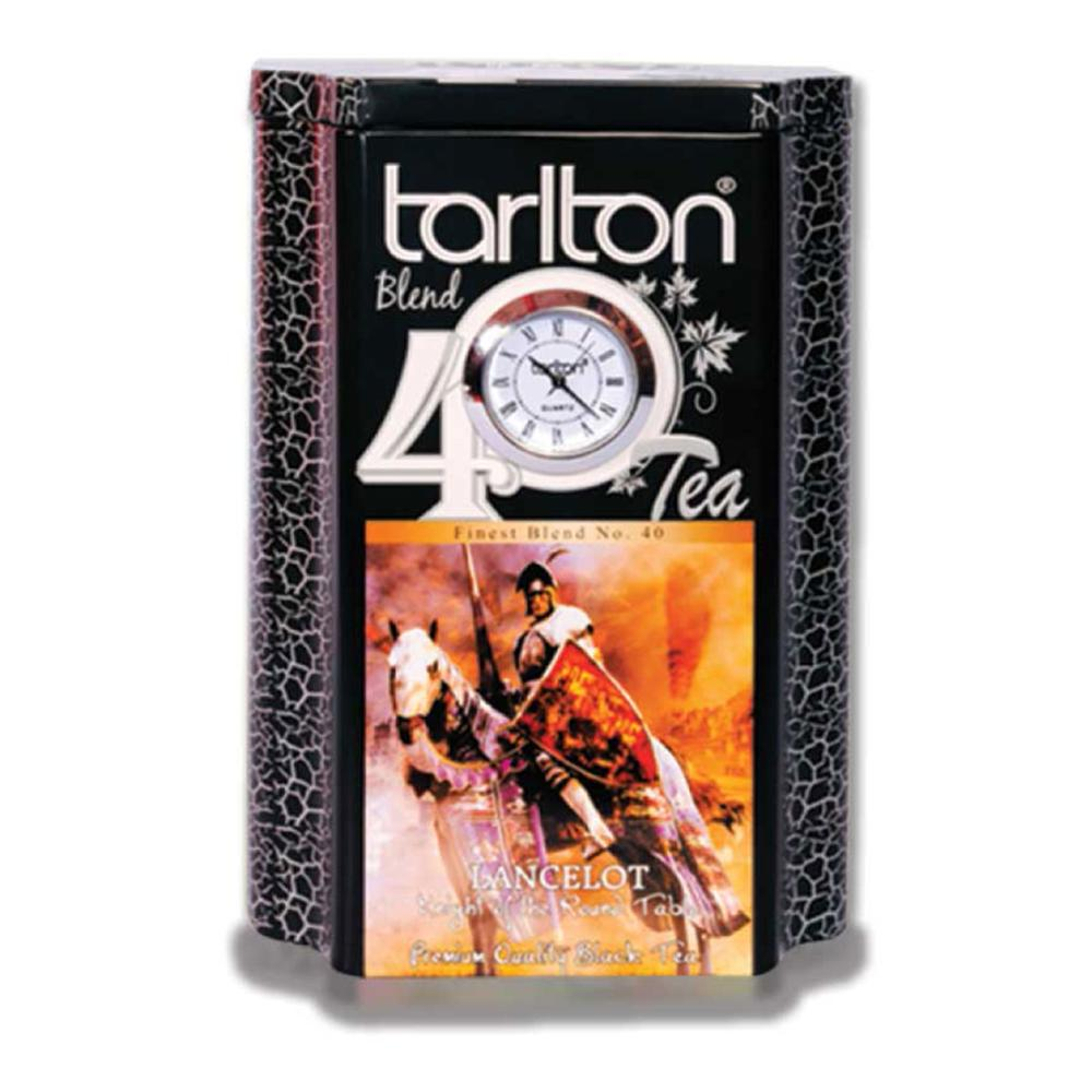 Premium Ceylon Black Tea OPA in a Tin - Leafy Tea - Tarlton Real Time Tin Collection