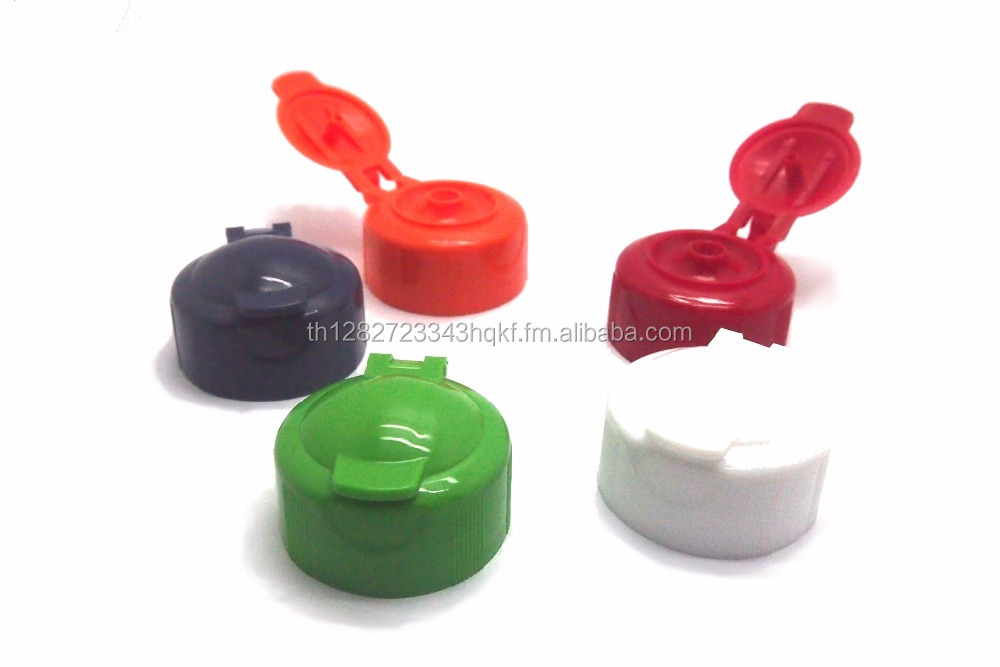 Cosmetic / toiletries / washing detergent flip top caps (common) - diameter 30mm