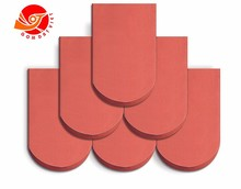 Bright Red Natural Clay Roof Tiles Roofing Tiles Type Clay Roof Tiles For Sale