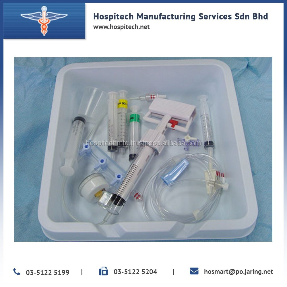 High Quality PTCA Pack With Balloon Catheter, Guide Wire & Medicine Cup
