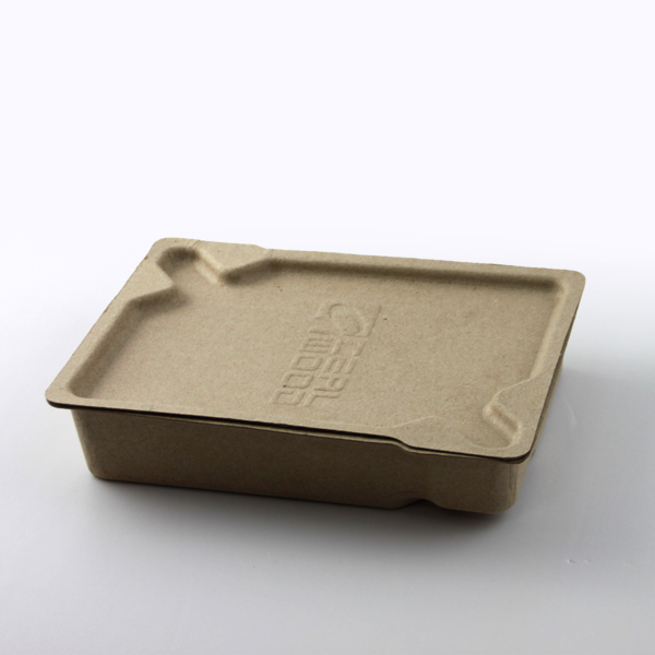 Natural Fiber Based Renewable Resources 4 Pack Paper Beer Carrier Box